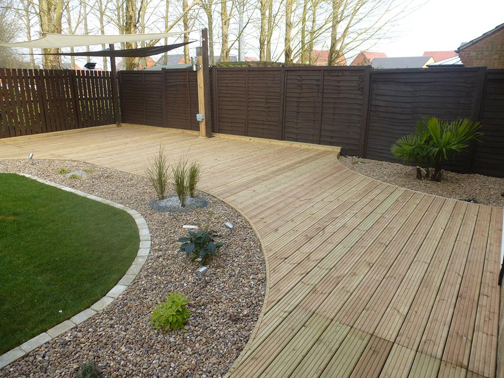 Large deck design
